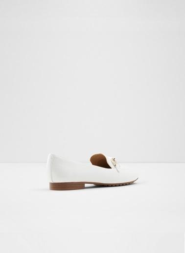Aldo Wicilama - Siyah Kadin Topuklu Ayakkabi Beyaz